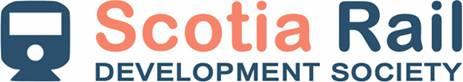 Scotia Rail Development Society logo